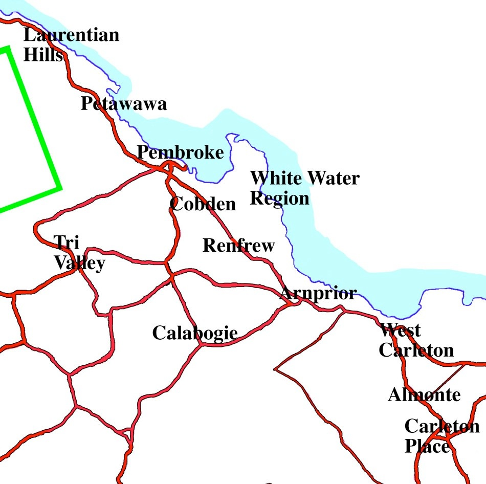 Ottawa Valley Skylar Maps